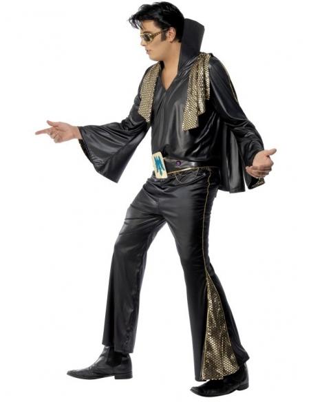 Déguisement Elvis noir et or | Déguisement Homme