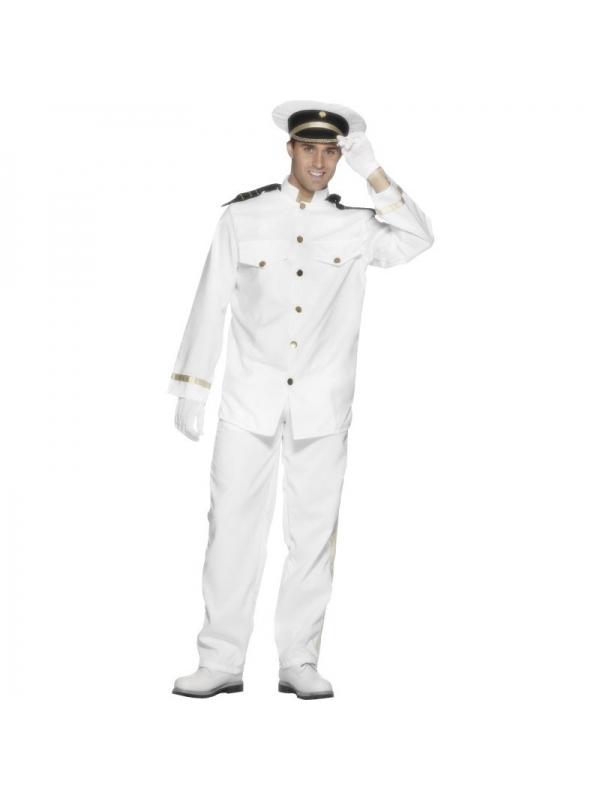 Déguisement capitaine blanc   Déguisement